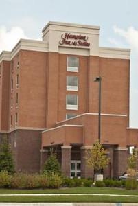 Hampton Inn & Suites Ribbon Cutting December 8, 2010